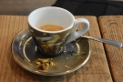 I popped back later in the week to try thie latest single-origin espresso...