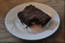 My brownie was soooooo good I took a bite out of it before remembering to photograph it...
