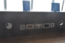 Lots of different power sockets, including USB. Well done, British Airways.