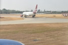 We're also behind a Virgin Atlantic Airbus A330-300...