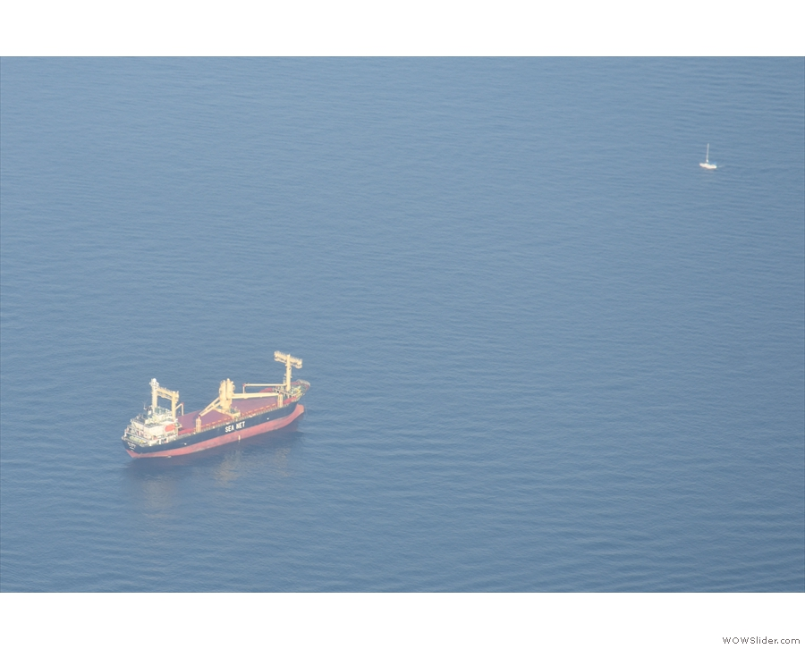 ... and small ships like these two.