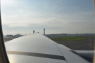 Taxiing to the terminal...