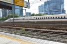 The line also runs next to one of the main bullet train lines. Welcome to Japan!