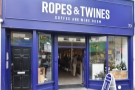 On Liverpool's famous Bold Street, there's a newcomer, Ropes & Twines.