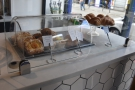 Down to business. You cacn order when you enter, where you'll find pastries...