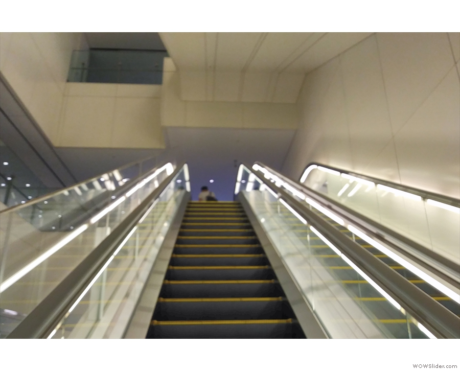 ... which is up these escalators (turn right at the top).