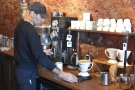 ... made using the Bonavita Dripper, the first time I had seen it in action in a coffee shop.