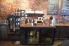 I came back at the end of the week and tried the single-origin pour-over...