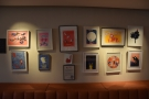 The Press Room has displays from local artists. Currently it's illustratior Ali Pye,