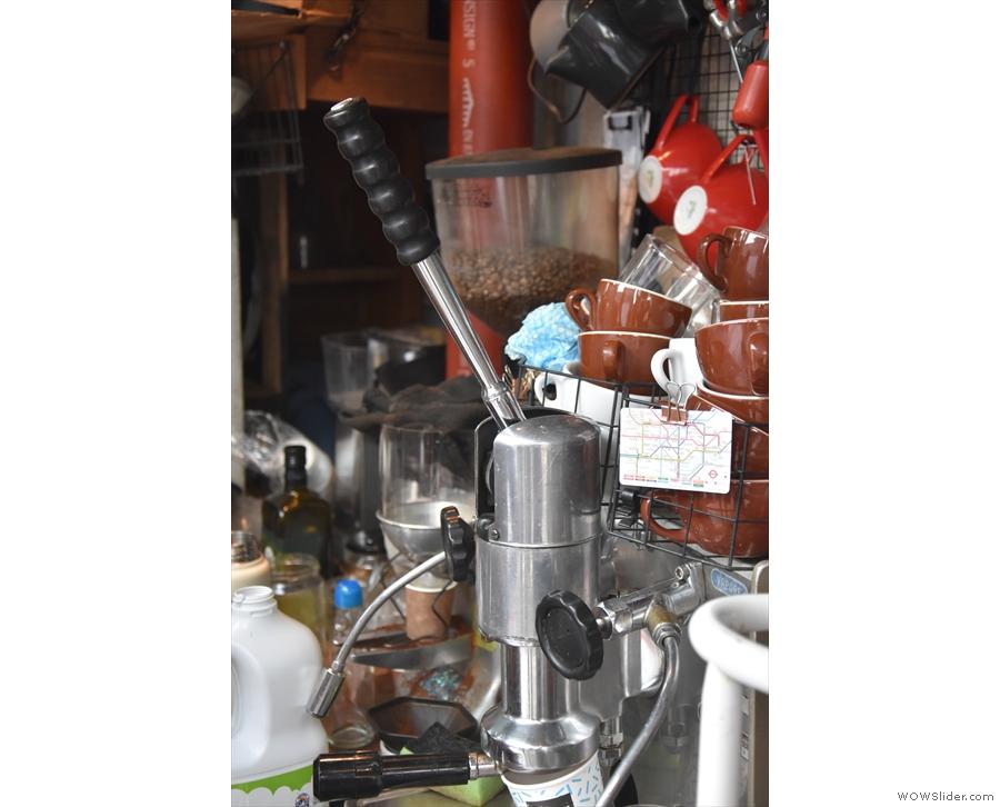 ... Faema Lambro espresso machine, which dates from 1958...