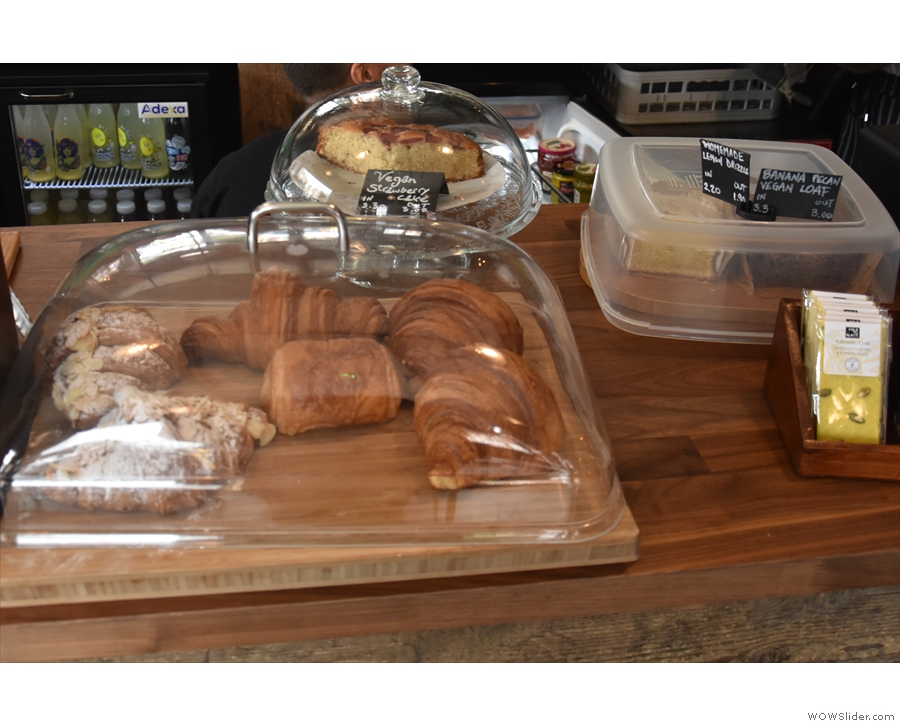 ... and a fair selection of pastries as well.