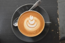 I'll leave you with a shot of my latte art.