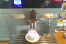I was having espresso.