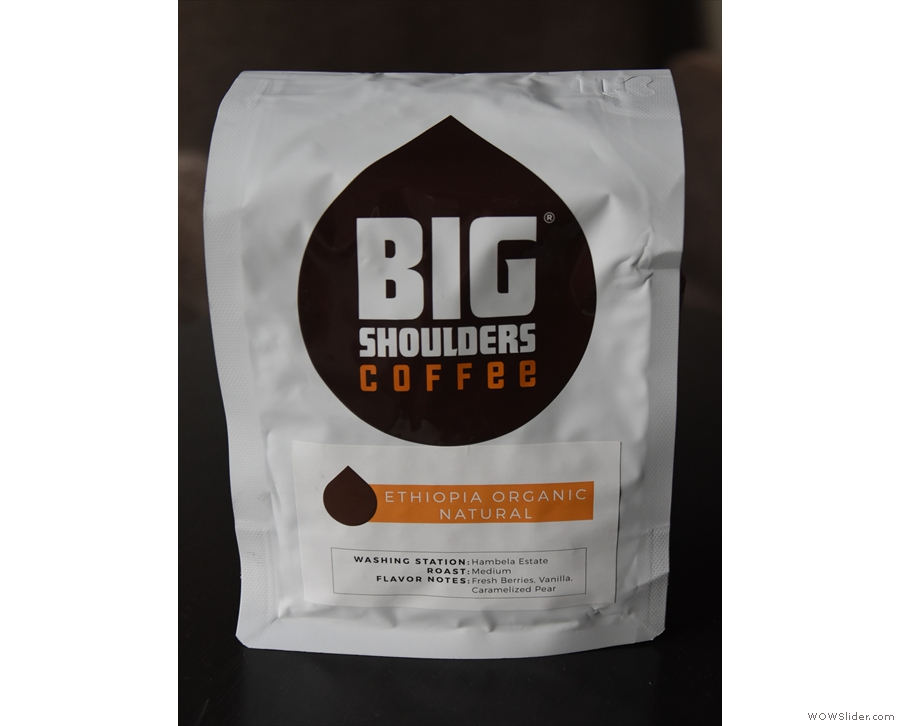 ... for a bag of this awesome Ethiopean natural organic coffee.