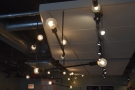 There are more lights above the counter...