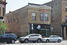 On North Kedzie Ave, opposite Logan Square station on the Blue Line, is Passion House.