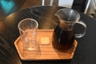 I decided to have a pour-over from one of the SP9s, made with the Templo de la Luna.