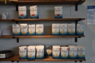 ... bags and bags of Kickapoo Coffee.