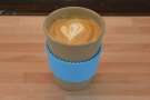 I started off with a flat white in my Eco to Go cup, made with the Captain Blend...