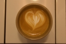 ... although I did better with the latte art!