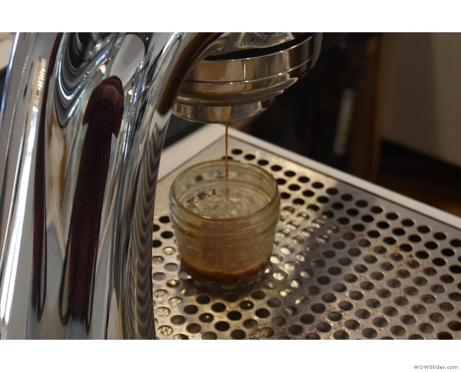 ... espresso extract.