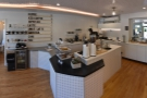 Going back into the central space, here's another look at the counter.