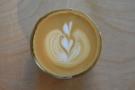 Impressive latte art.