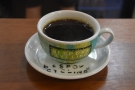 I had the batach-brew, a Kayon Mountain from Ethiopian, roasted by Curve.