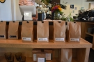 This is mostly the various single-origin filters roasted by BLK \ MRKT.