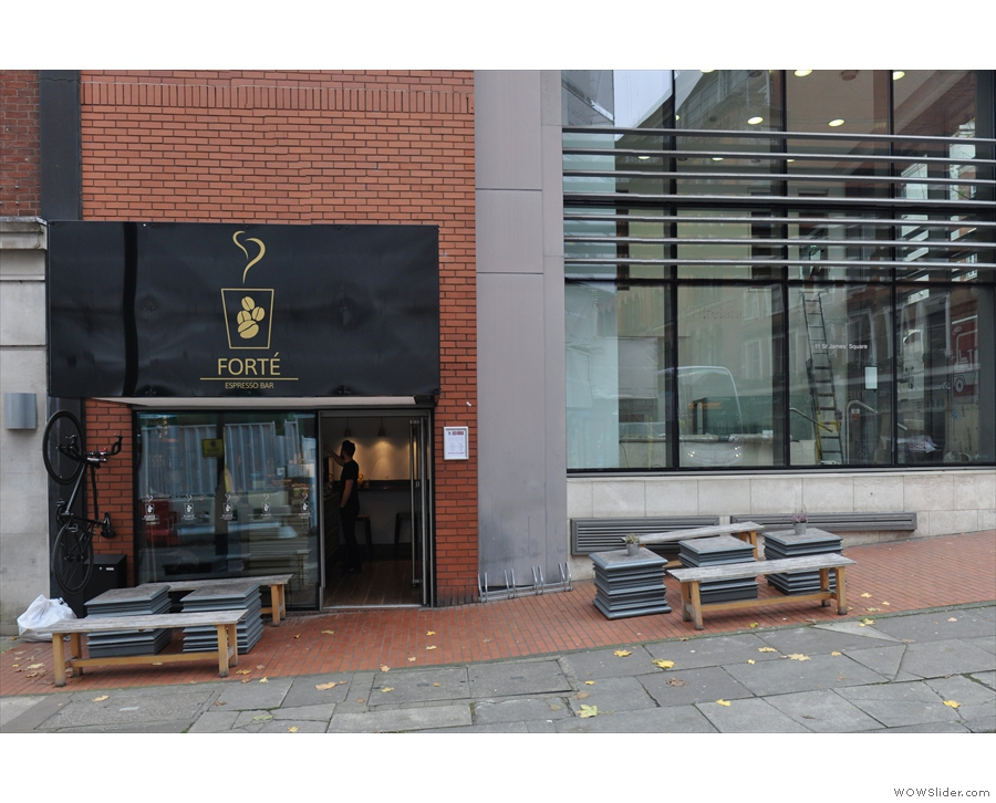 In November, I was back in Manchester, visting old friends with a new name, Forte.