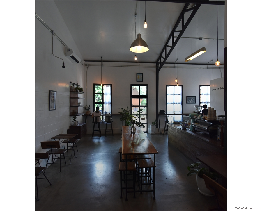 ... while April saw me in Thailand, where I found Cottontree Coffee Roasters in Chiang Mai.