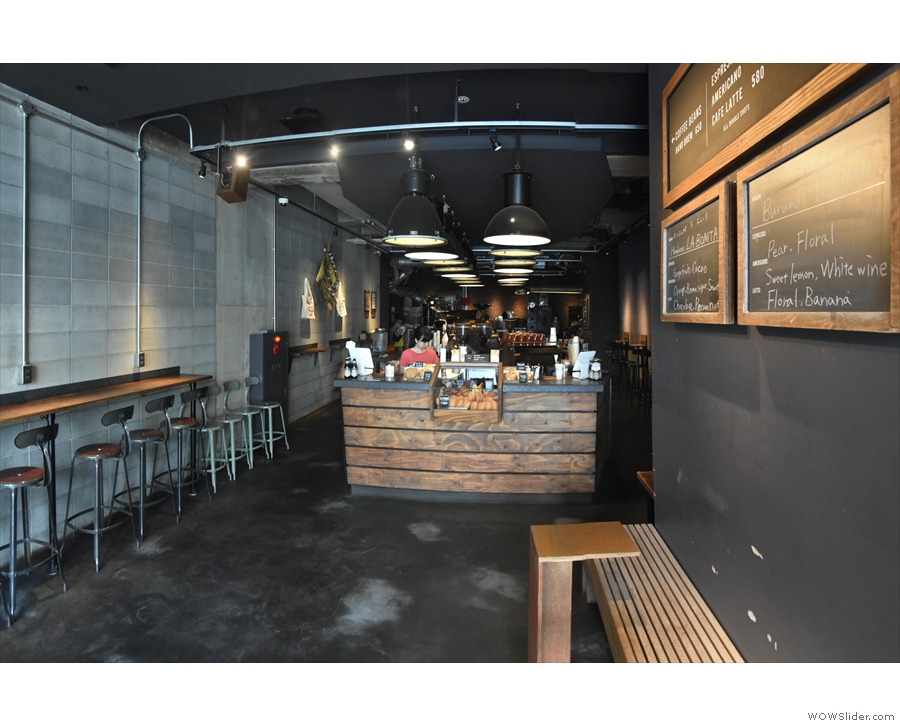 I was back on my travels in July, returning to Japan and The Roastery by Nozy in Tokyo.