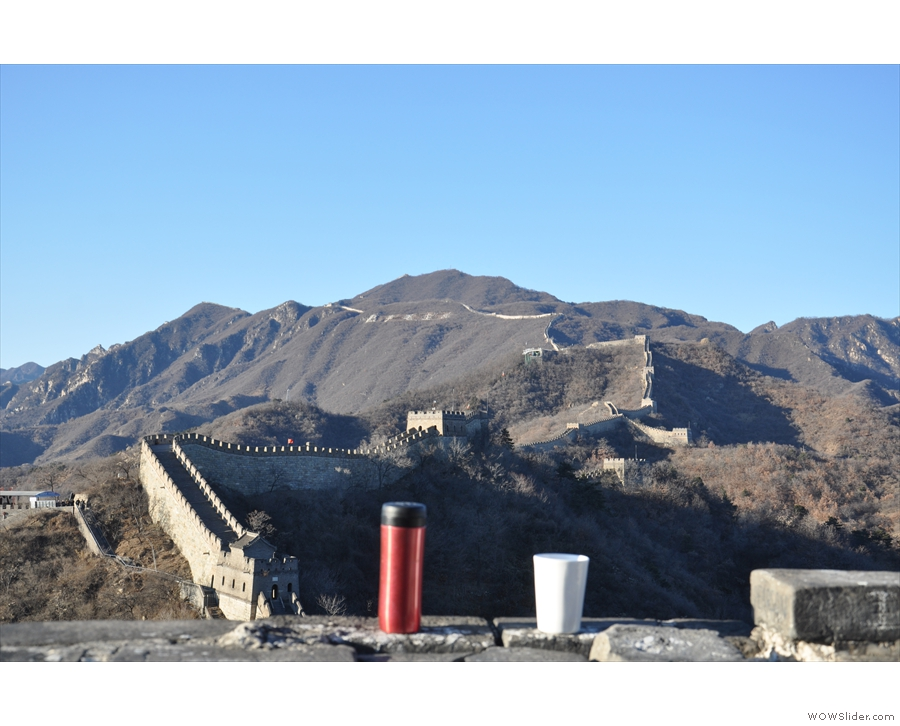 December saw me in China, where I took my coffee to see the Great Wall.