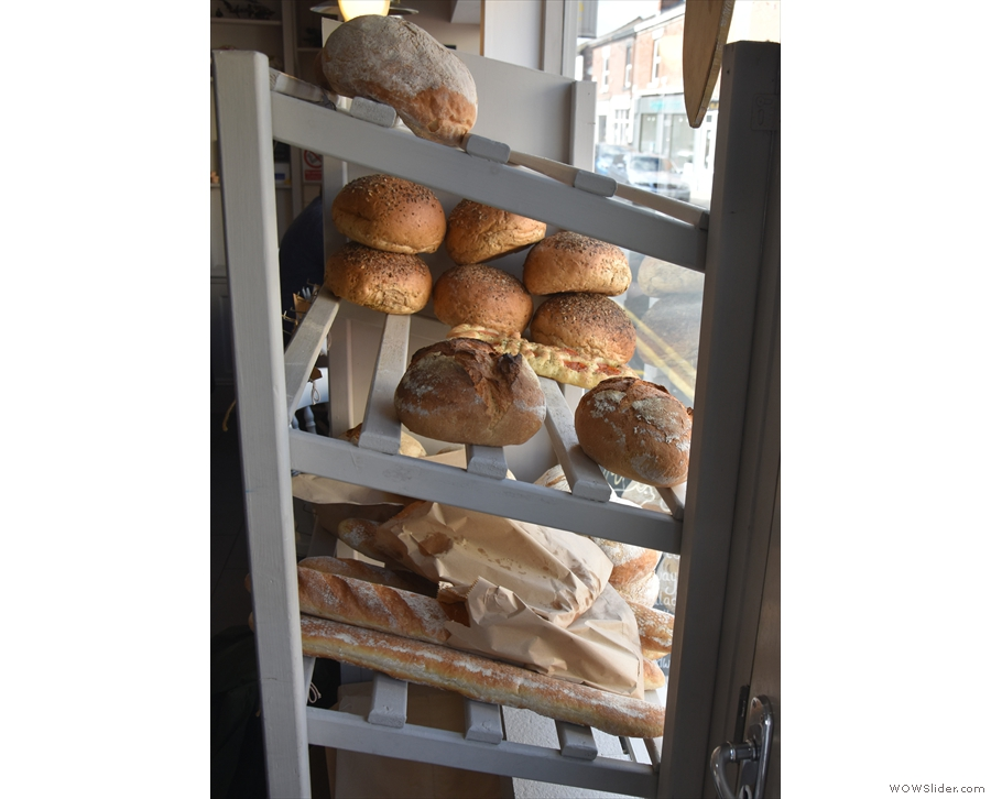 ... which comes from Born and Bread in the Wirral, delivered fresh every day.