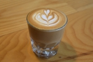 Instead I had a cortado, in a glass, made with the Third Coast blend.
