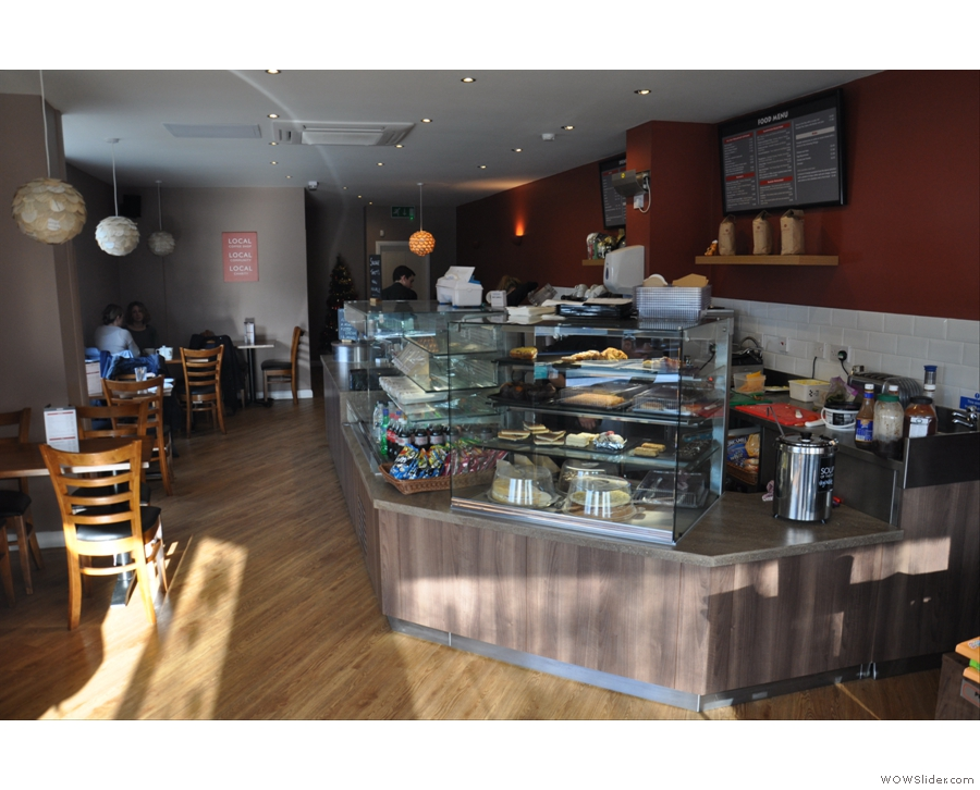 The Coffee Company, Bebington, the neighbourhood coffee shop personified