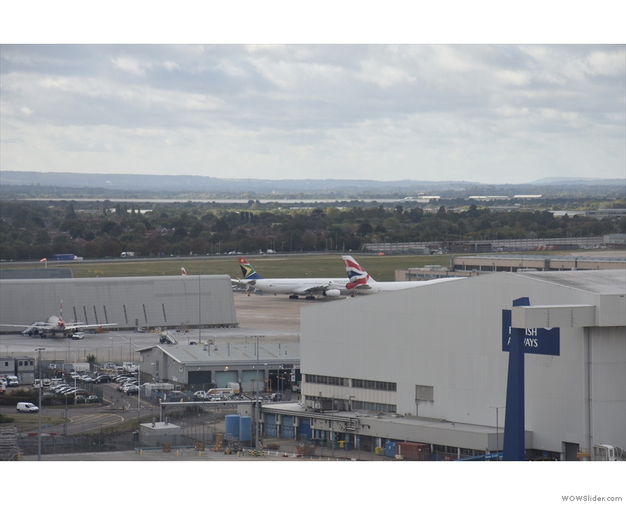 Our A380 is almost home now.