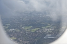 What you realise from up here is just how many green spaces south London has.