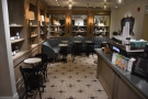 ... beyond the counter and the Kees van der Westen espresso machine.