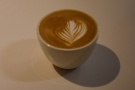 I started off with a cortado, in this gorgeous ceramic bowl.