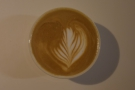 Lovely latte art.