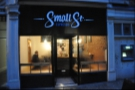 Small Street Espresso, a gem in the heart of Bristol, had only just opened when I visited.