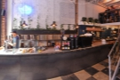 ... and a panoramic view of Paquebot from just inside the door.
