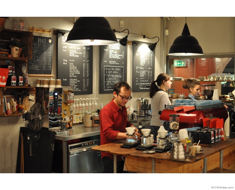 The Coffee Spot stays in Manchester with North Tea Power, which, despite the name, also does excellent coffee