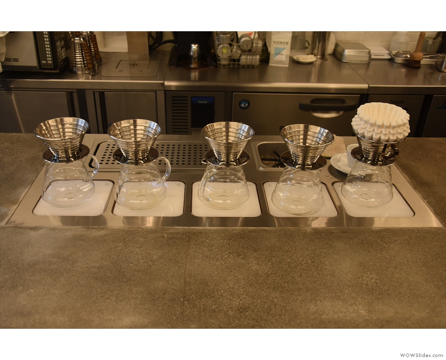 This time I decided to go for a pour-over. The flight was very tempting, but I was on my...