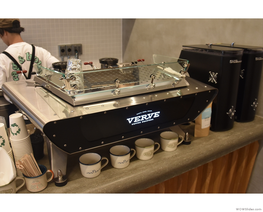 Finally, at the end of the counter, the Kees van der Westen Spirit and its two Mythos 1...