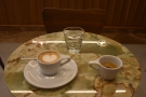 ... and went for the One & One, a single espresso and a macchiato...