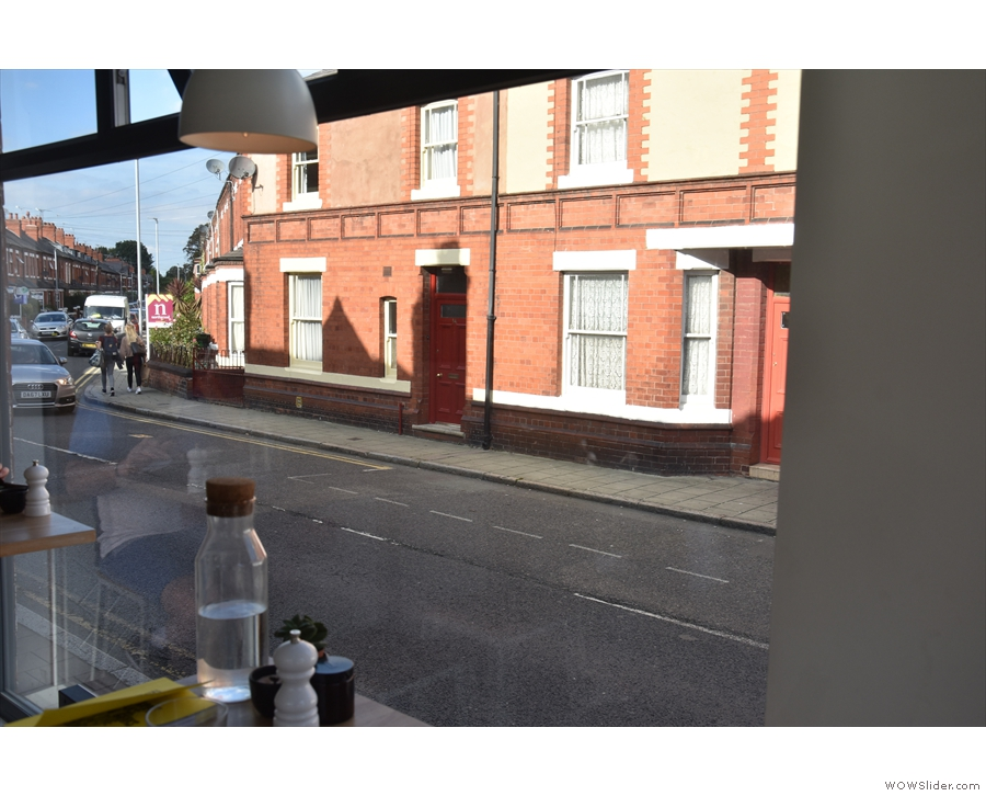 There's a similar view along Ermine Road. The bricks look lovely in the afternoon sun.