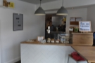 Next comes the counter at the back, a relatively modest affair...