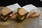 ... while there's also a selection of sandwiches, which can be grillled.